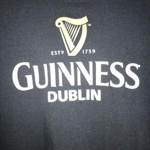 Official Guinness T-Shirt Men's Size M Color Black